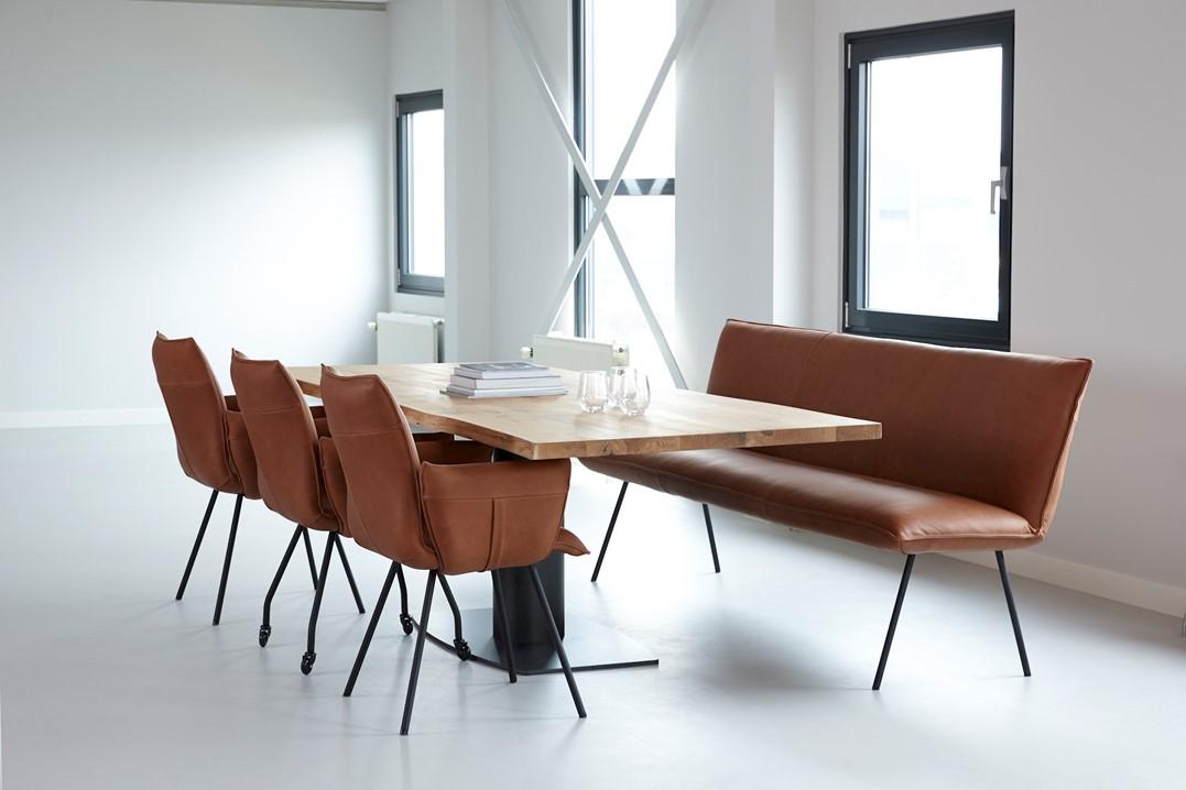 Zitten idzenga meubelen for Eetkamerfauteuil op wieltjes